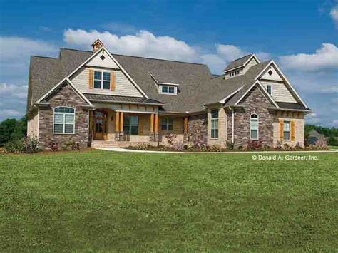stone ranch with european flair hwbdo77256 ranch from eplans craftsman house plan 2613 square feet and 4