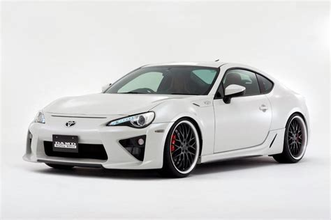 frs car white damd wants to your fr s look like a lexus