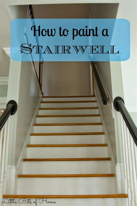 how is paint for bits of home how to paint a stairwell without