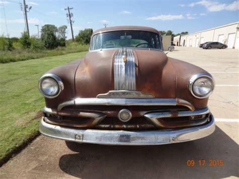 1953 Pontiac Parts 1953 Pontiac Chieftain For Sale In Oklahoma City Oklahoma