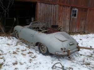 Porsche 356 Barn Find For Sale Mysterious Find 1954 Porsche 356 Pre A Cabriolet Bring