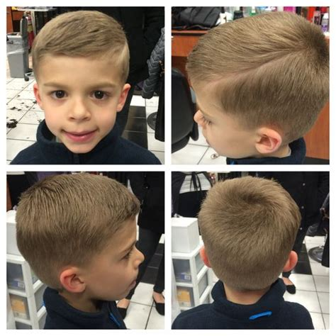 little boy hard part cut little boys hard part haircut hair by veronica layne