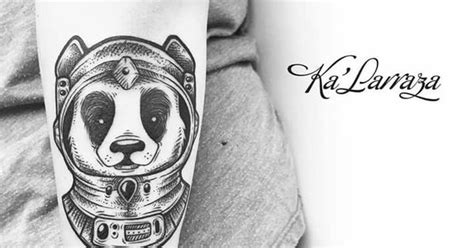 tattoo panda significato panda tattoo by ka larraza panda tattoos pinterest
