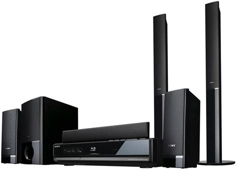 sony bdv e300 and bdv e500w home theater systems