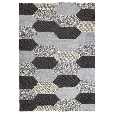 ikea square rug kollund rug flatwoven handmade grey 170x240 cm ikea
