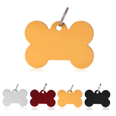 puppy name tags blank personalized pet id tags teddy cat animal name charm metal tag ebay