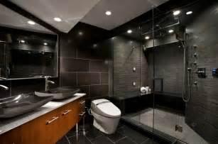 einbauleuchten badezimmer luxus badezimmer in schwarz der neue trend