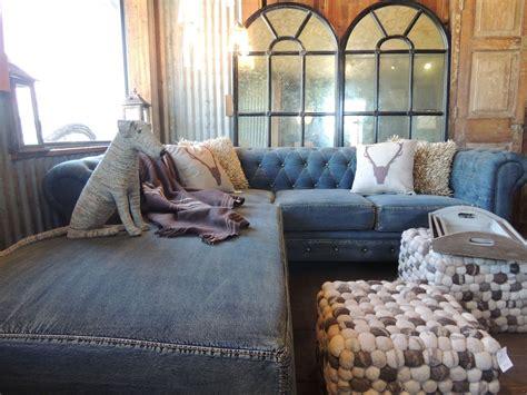 blue jean denim sofa indigo blue and denim for your home