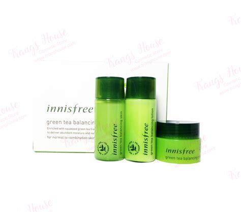 Inisfree Green Tea Special Kit bộ dưỡng da tr 224 xanh innisfree green tea balancing special