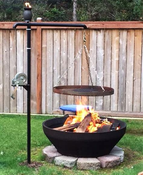 Patio Swing Hy Vee 27 Surprisingly Easy Diy Bbq Pits Anyone Can Make