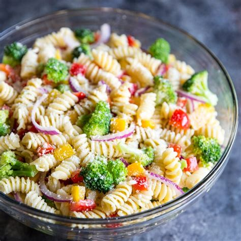 pasta salad recipes easy vegetable pasta salad recipe