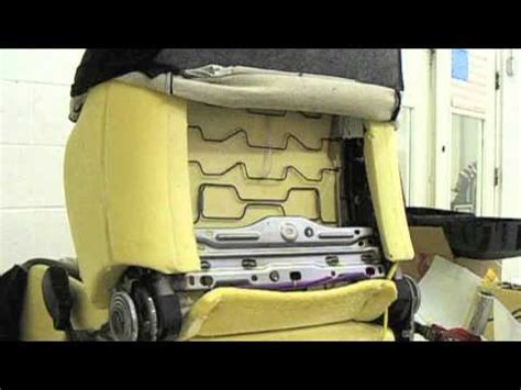 how to fix cars 2009 ford explorer seat position control car lumbar support installation youtube