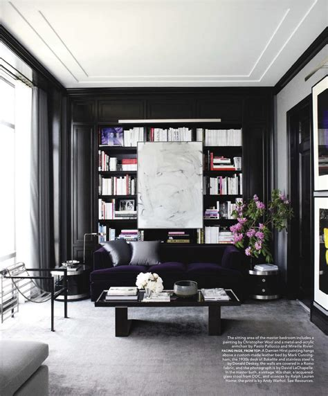 black living rooms black walls at home feng shui interior design the tao