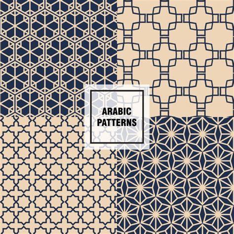 arab pattern vector free download chic arabic patterns vector free download