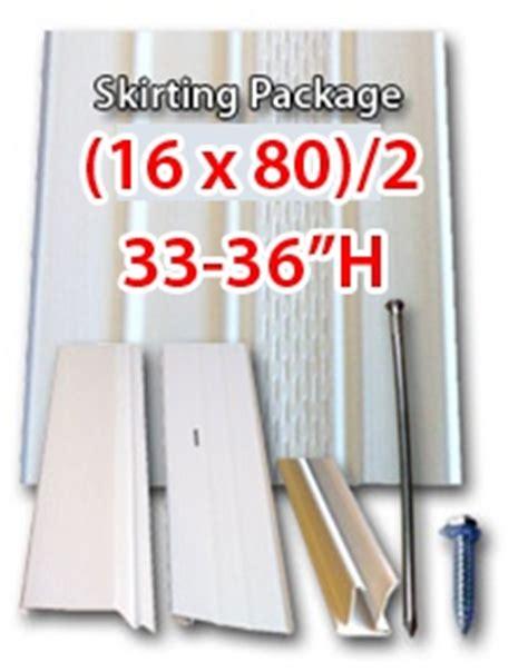 custom 16x80 vinyl skirting kit to ky