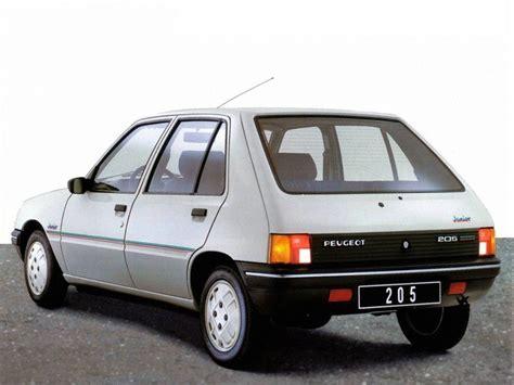 2 door peugeot cars peugeot 205 5 doors specs 1983 1984 1985 1986 1987