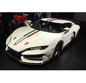 Italdesign Zerouno Supercar Wows 2017 Geneva Crowd  Auto