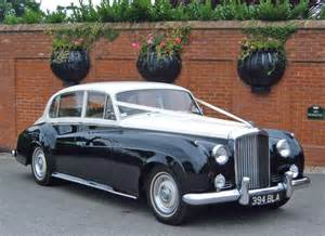 Bentley Wedding Cars Bentley S2 Wedding Car Classic Black White Wedding Car