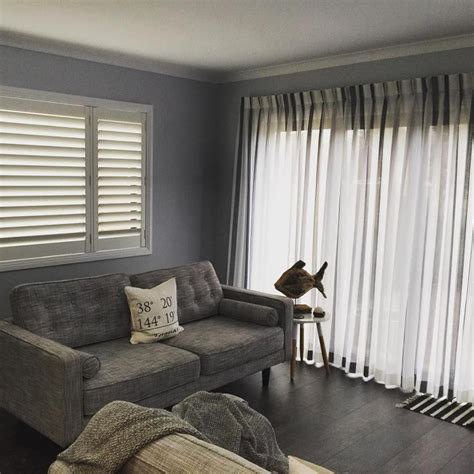plantation shutters curtains getting creative with plantation shutters in geelong