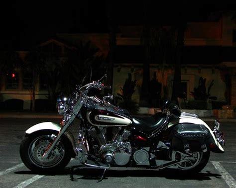 custom pearl whitered paint yamaha road star  flickr