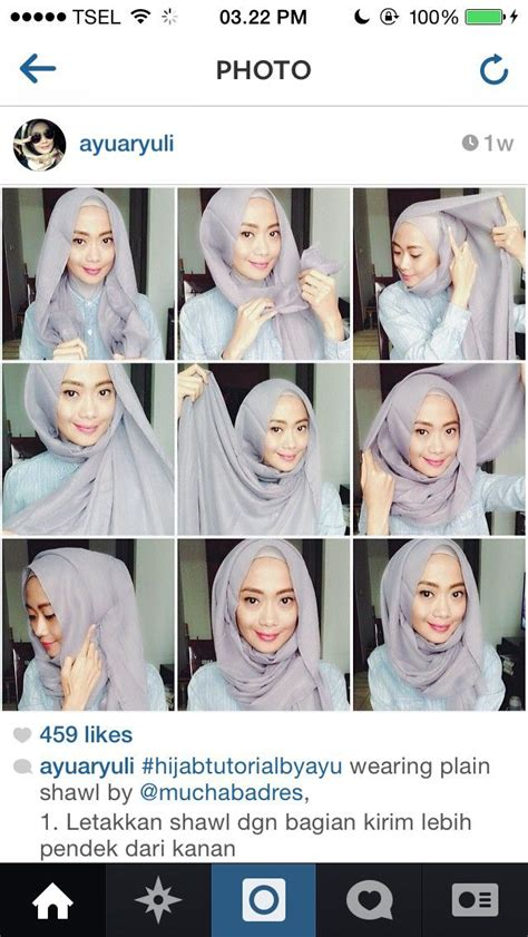 tutorial turban pashmina simple 56 best different hijab style images on pinterest hijab