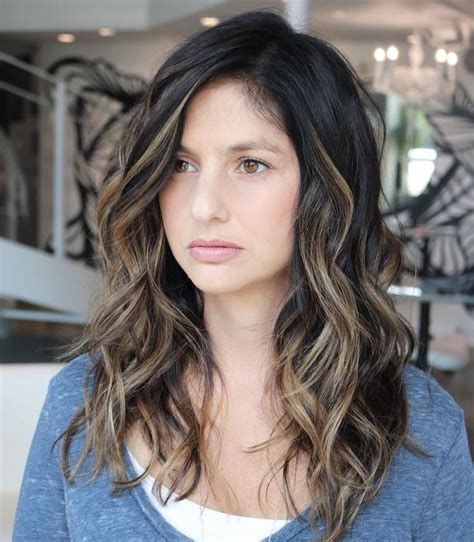 do long layers look good in thick slightly wavy hair best 25 long wavy haircuts ideas on pinterest what is