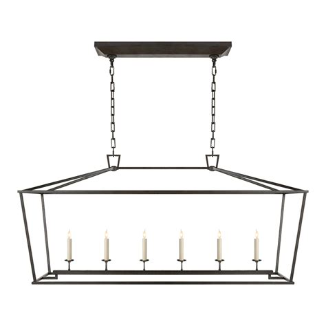 Linear Candle Chandelier Darlana Iron Chandelier Luxe Home Company