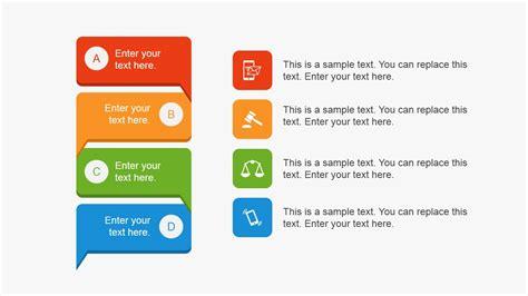flat innovation project powerpoint template slidemodel