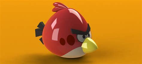 Kaos 3d Umakuka Angry Bird angry birds solidworks 3d cad model grabcad