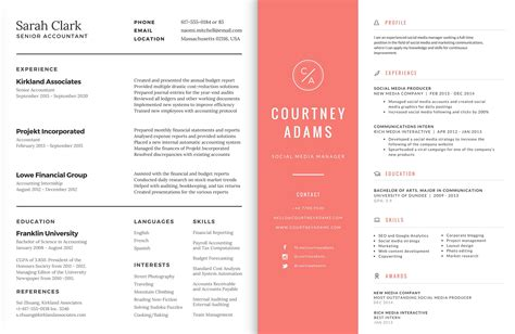 modern resume template 2016 redesigning your resume for 2016 artisan talent
