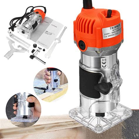 rpm woodworking electric trimmer wood milling