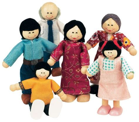 small figures for dolls house small world toys ryan s room wood doll house family affair asian american doll family