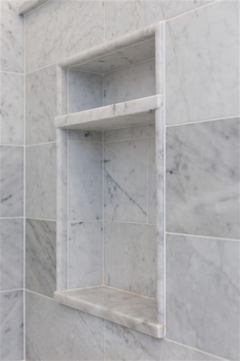 Two Tier Niche   Marble Master Bath, Chatham NJ