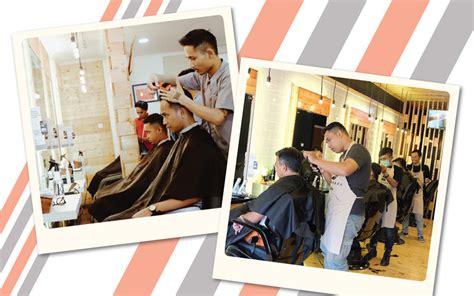 Potong Di Barberbox muhammad emyranza barberbox barbershop praktis untuk