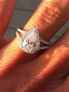 pear engagement ring pear engagement ring wedding