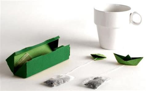 Origami Tea Bag - clever and creative tea packaging
