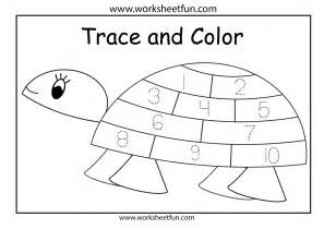 free trace number 2 coloring pages