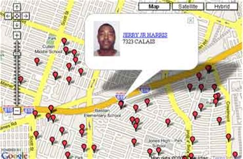 Myspace Agrees To Names Of Convicted Offenders by Alphapatriot Archive 187 Offender Db Using Maps