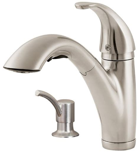 price pfister stainless steel kitchen faucet parisa t34 3nss best price price pfister f5347pss parisa 2 or 4 hole