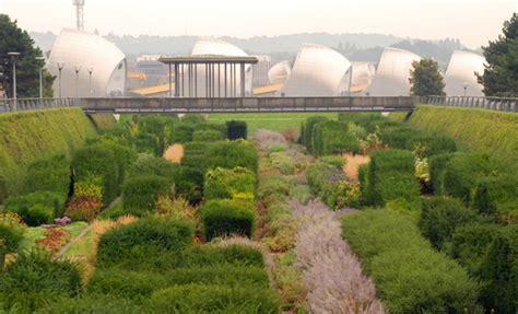 thames barrier park development thames barrier park lisa cox garden designs blog