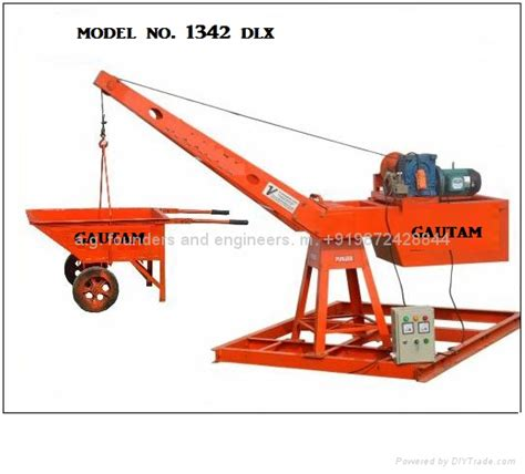 Best Home Organization monkey lift mini crane gautam brand india