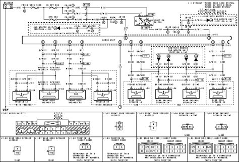 mazda protege radio wiring diagram  schematic  diagrams ea  tribute