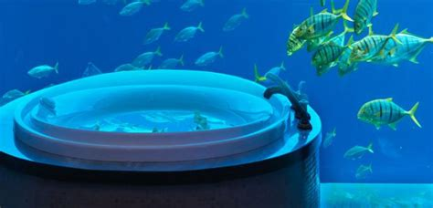 Suite Neptune Underwater Temples For Mind And Luxury Bathrooms At Their Best