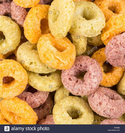 colorful cereal colorful cereal loops stock photos colorful cereal loops