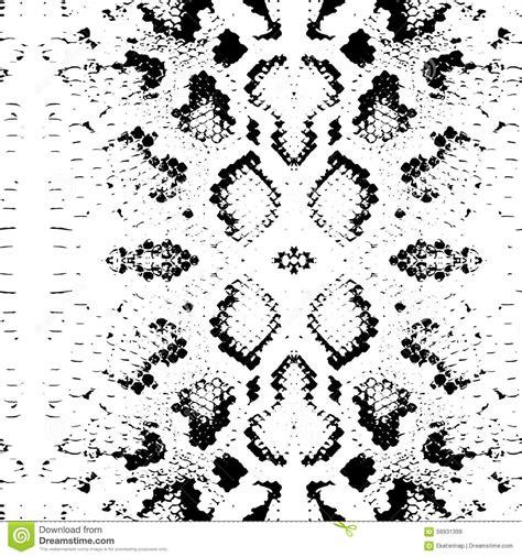 snake pattern black and white seamless pattern snake skin texture black on white