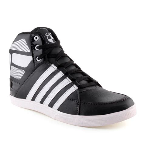 black and white casual shoes price in india buy black and