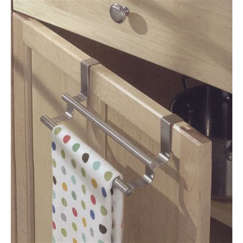 kitchen towel rack sink cabinet door kitchen towel bar in kitchen