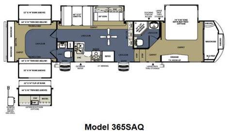 sandpiper rv floor plans new 2012 forest river rv sandpiper 365saq fifth wheel at