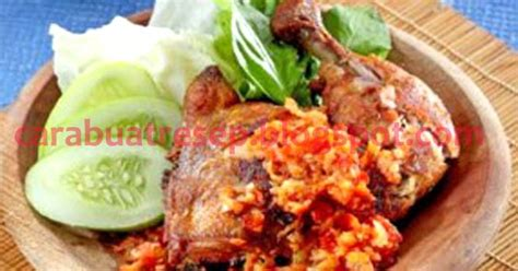cara membuat nasi uduk khas jawa timur cara membuat ayam penyet sambal korek surabaya resep