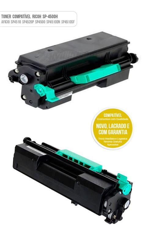 Toner Ricoh toner compat 237 vel sp4500h para ricoh sp 4500 sp4510 4510dn
